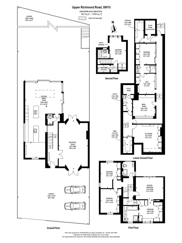 6 bedroom property to rent in Upper Richmond Road, Putney