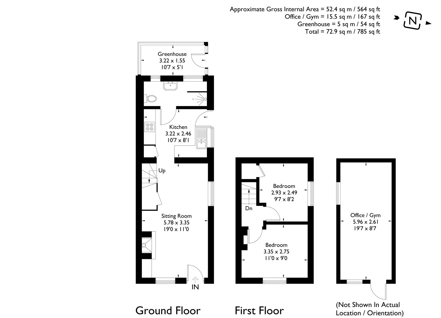 2 bedroom property for sale in The Folly, Newbury