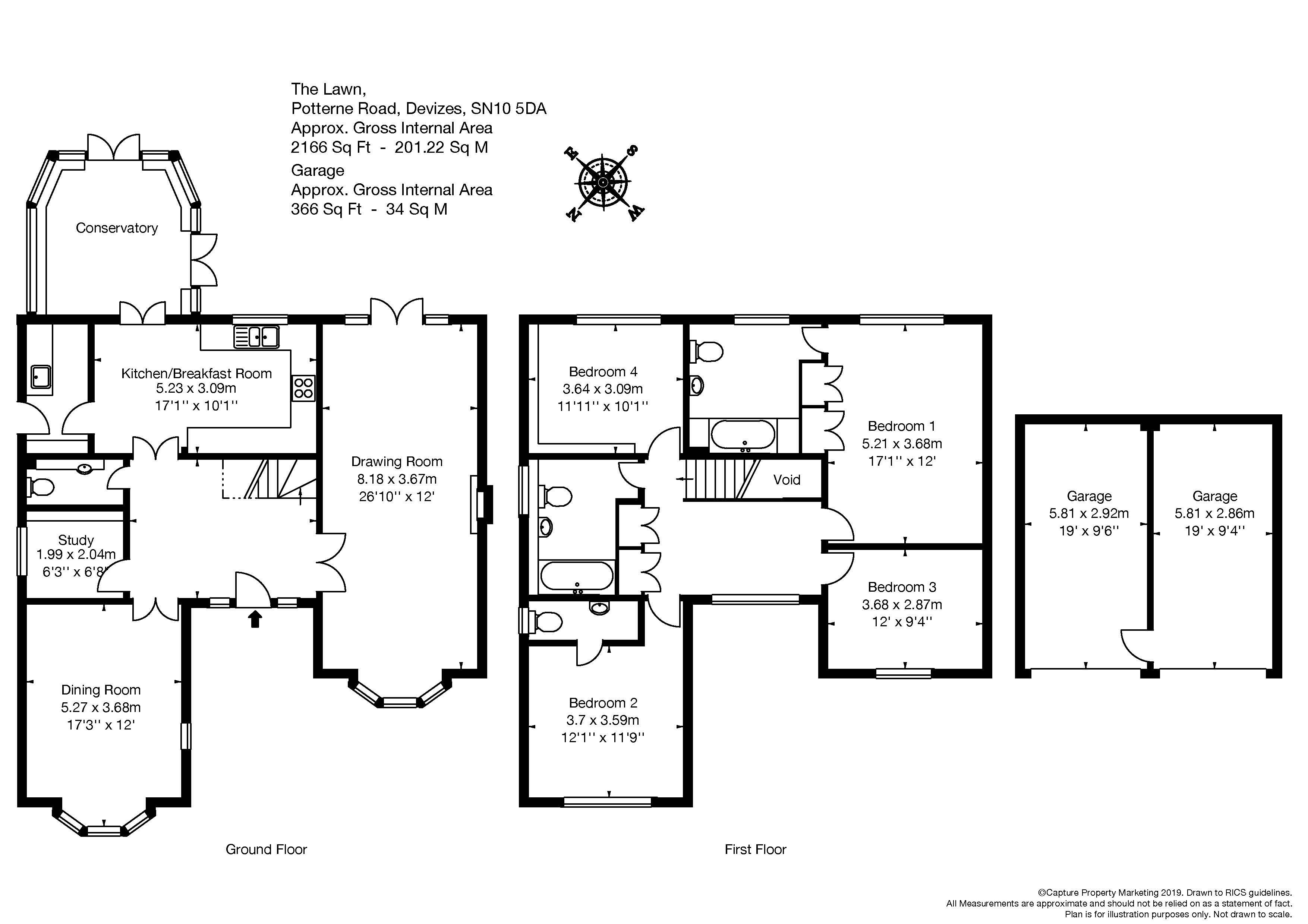 4 bedroom property for sale in Potterne Road, Devizes