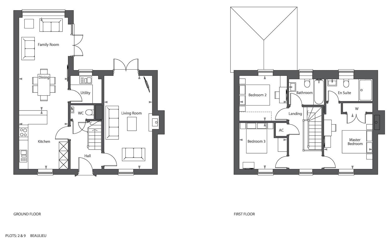 3 bedroom property for sale in Luzborough Lane, Romsey