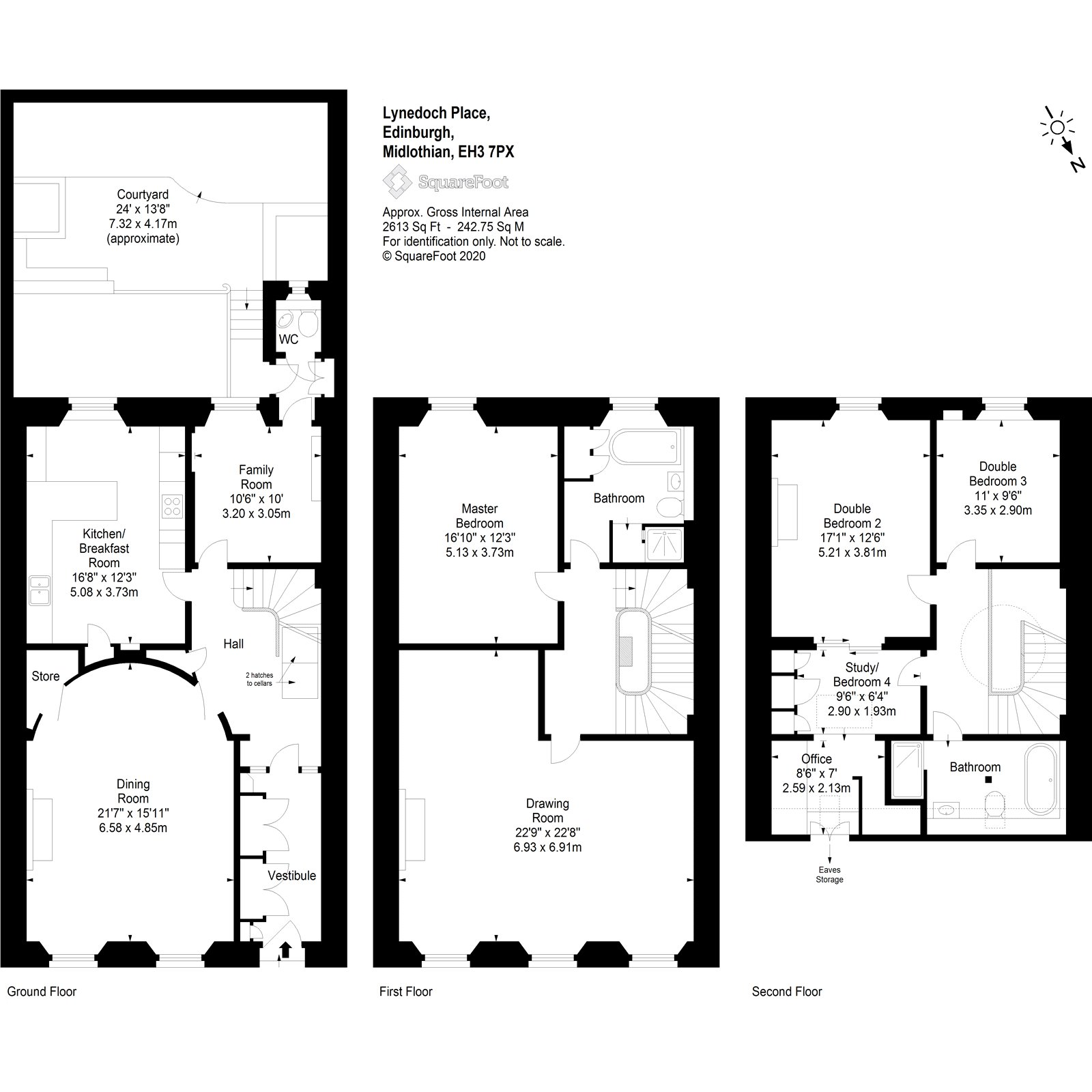 4 bedroom house for sale in Lynedoch Place, Edinburgh