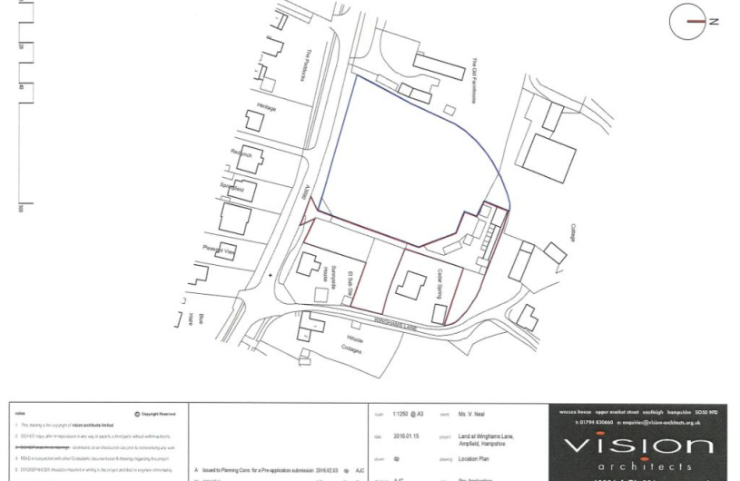 property for sale in Land To The North Of Ampfield Hill