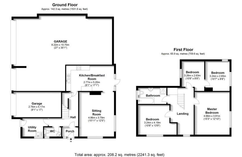 3 bedroom property for sale in Plumpton Lane, Plumpton