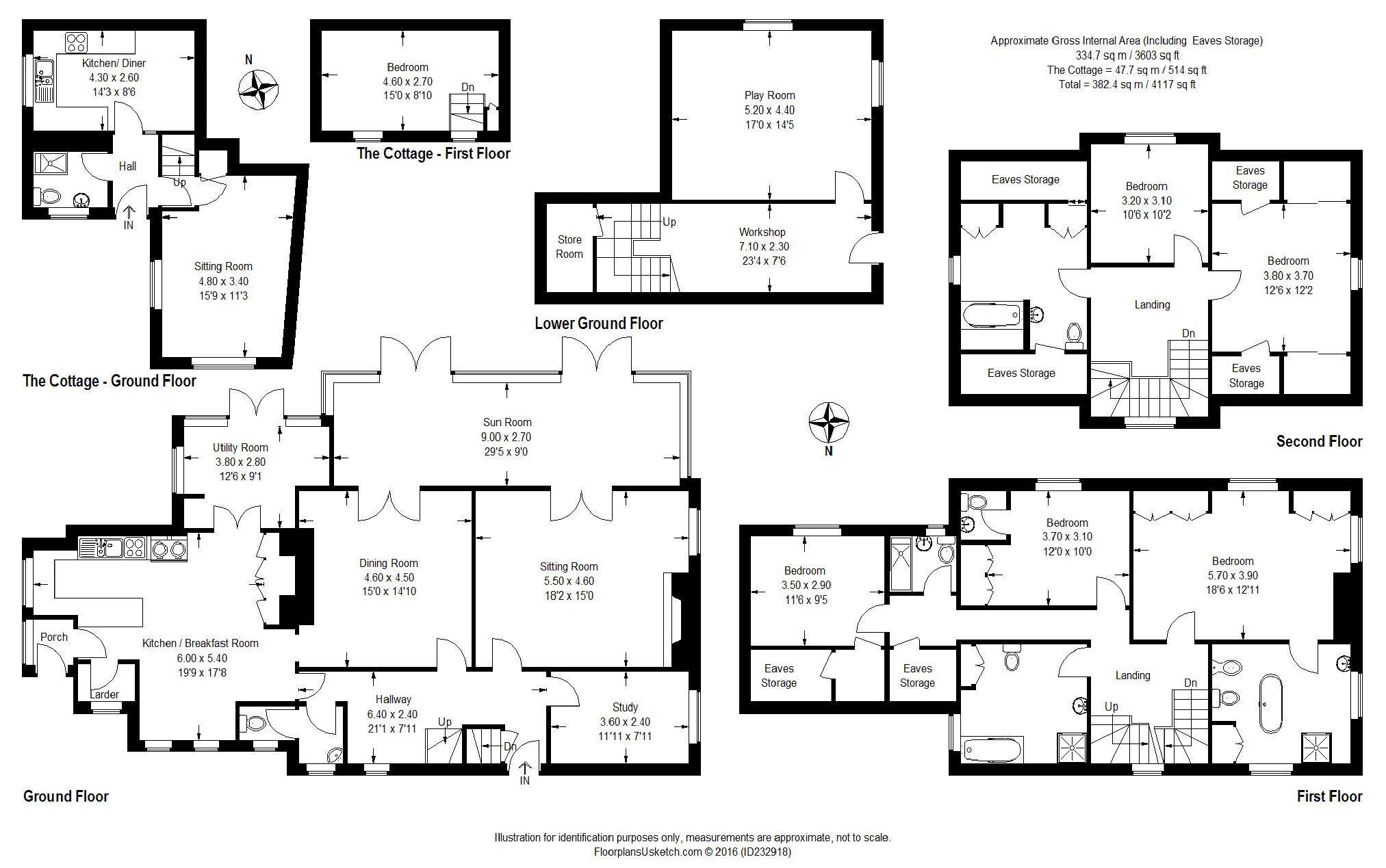 5 bedroom property for sale in Victorian home, Highweek