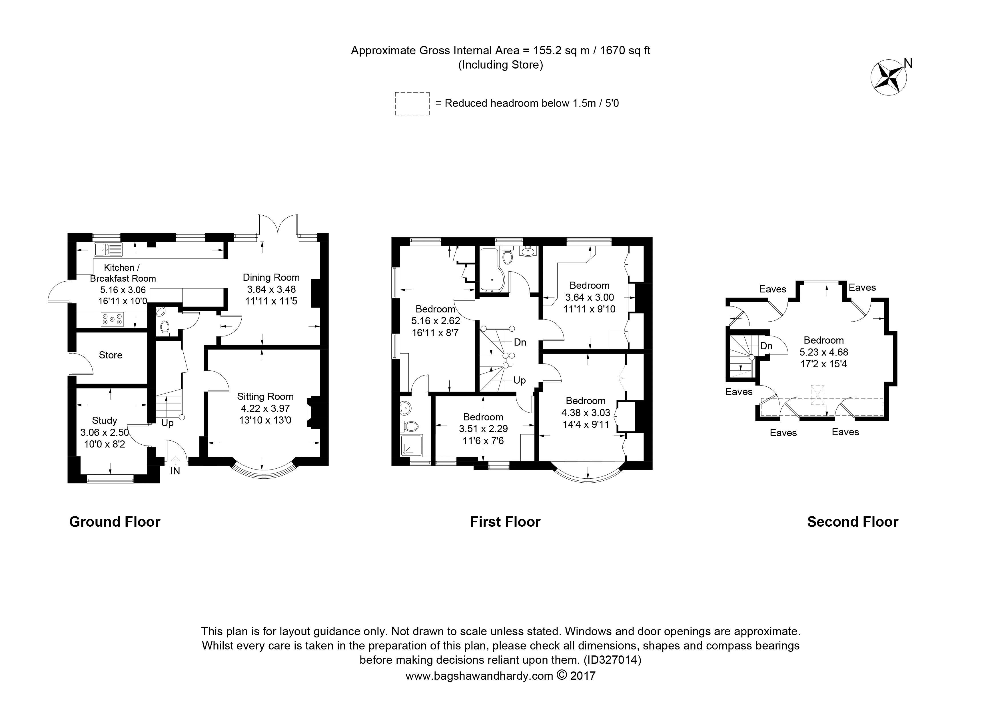 5 bedroom property for sale in Hillside Gardens, Brockham