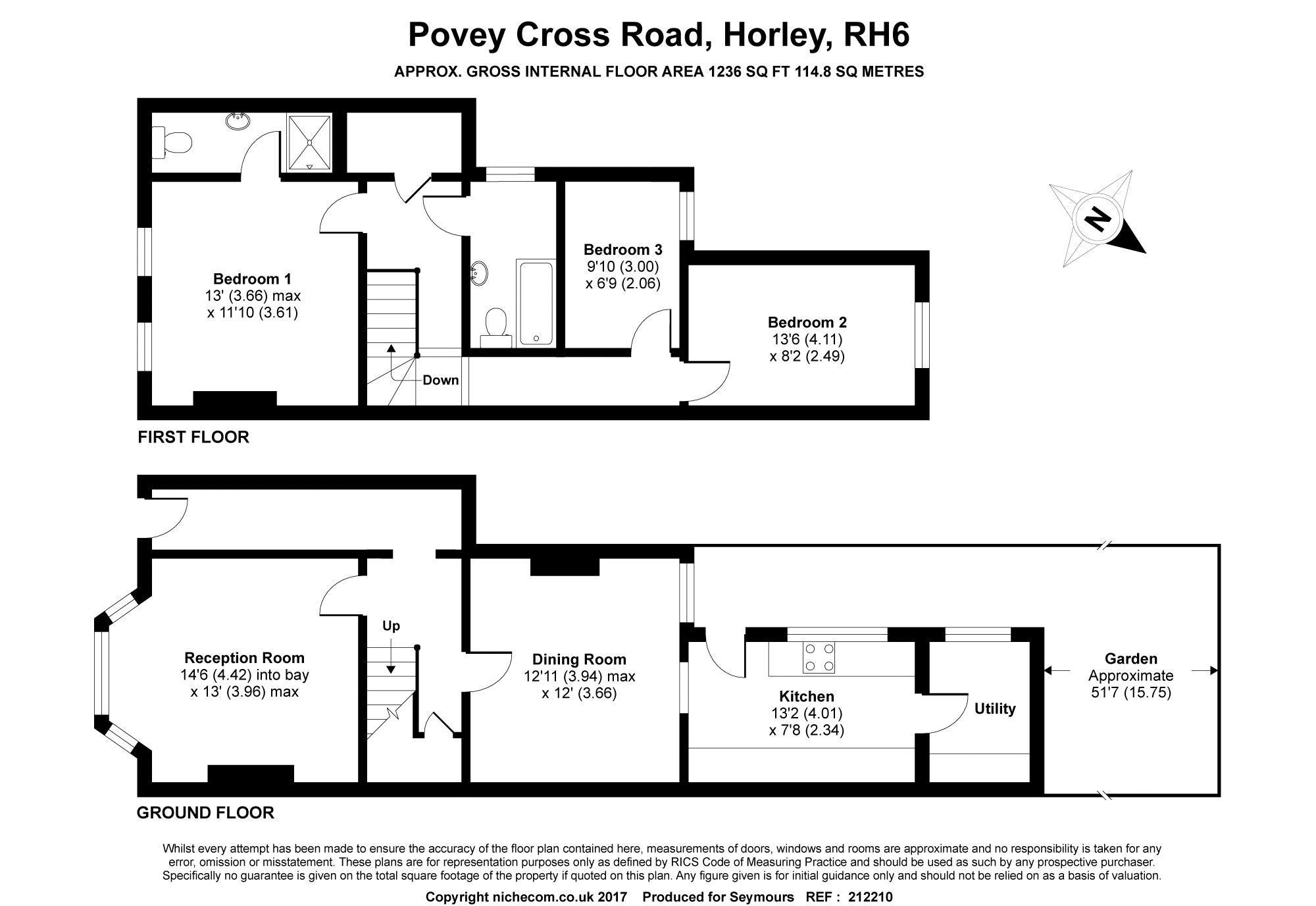 3 Bedroom Property For Sale In Horley
