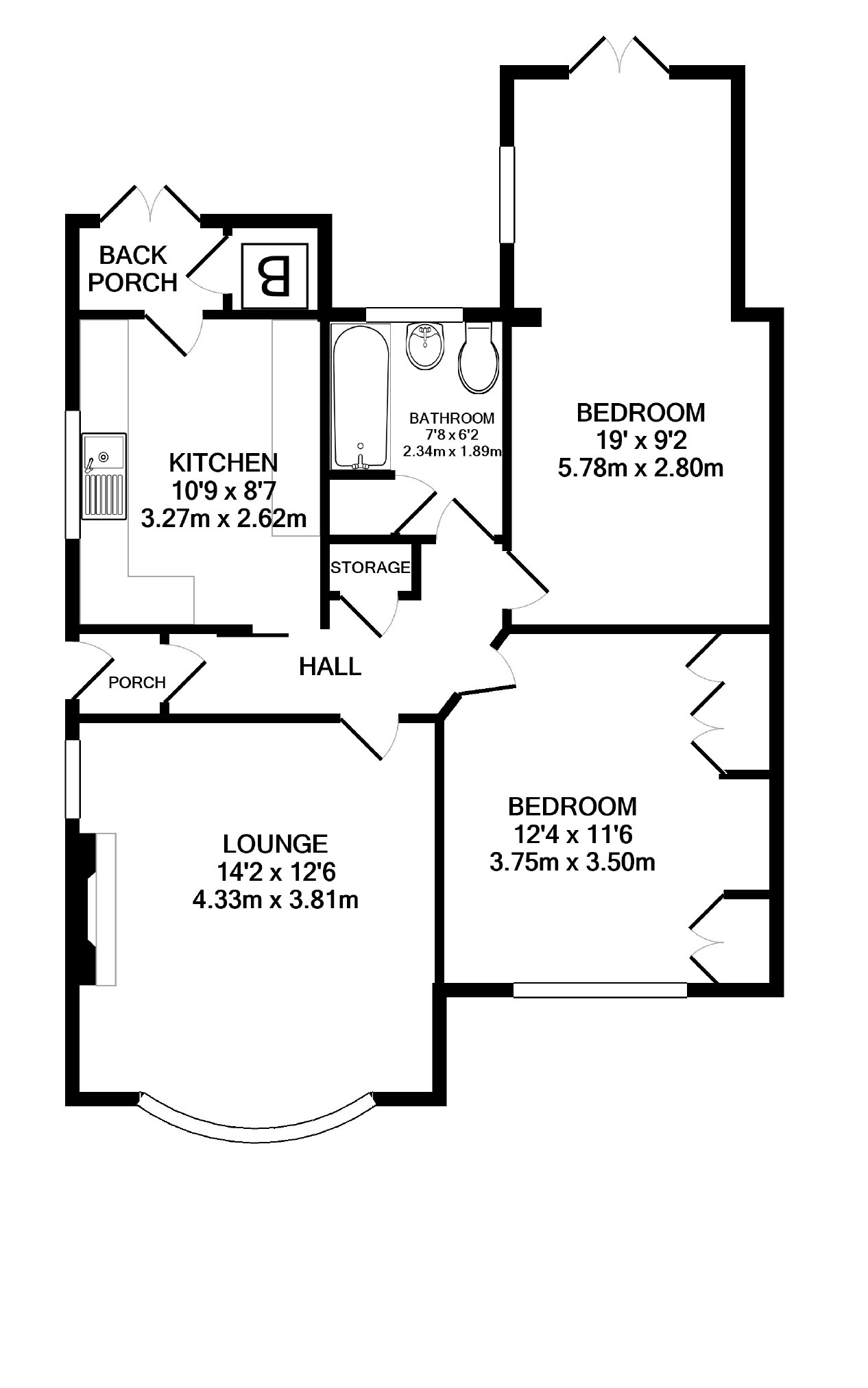 2 bedroom property for sale in Norfolk Road, Wigston
