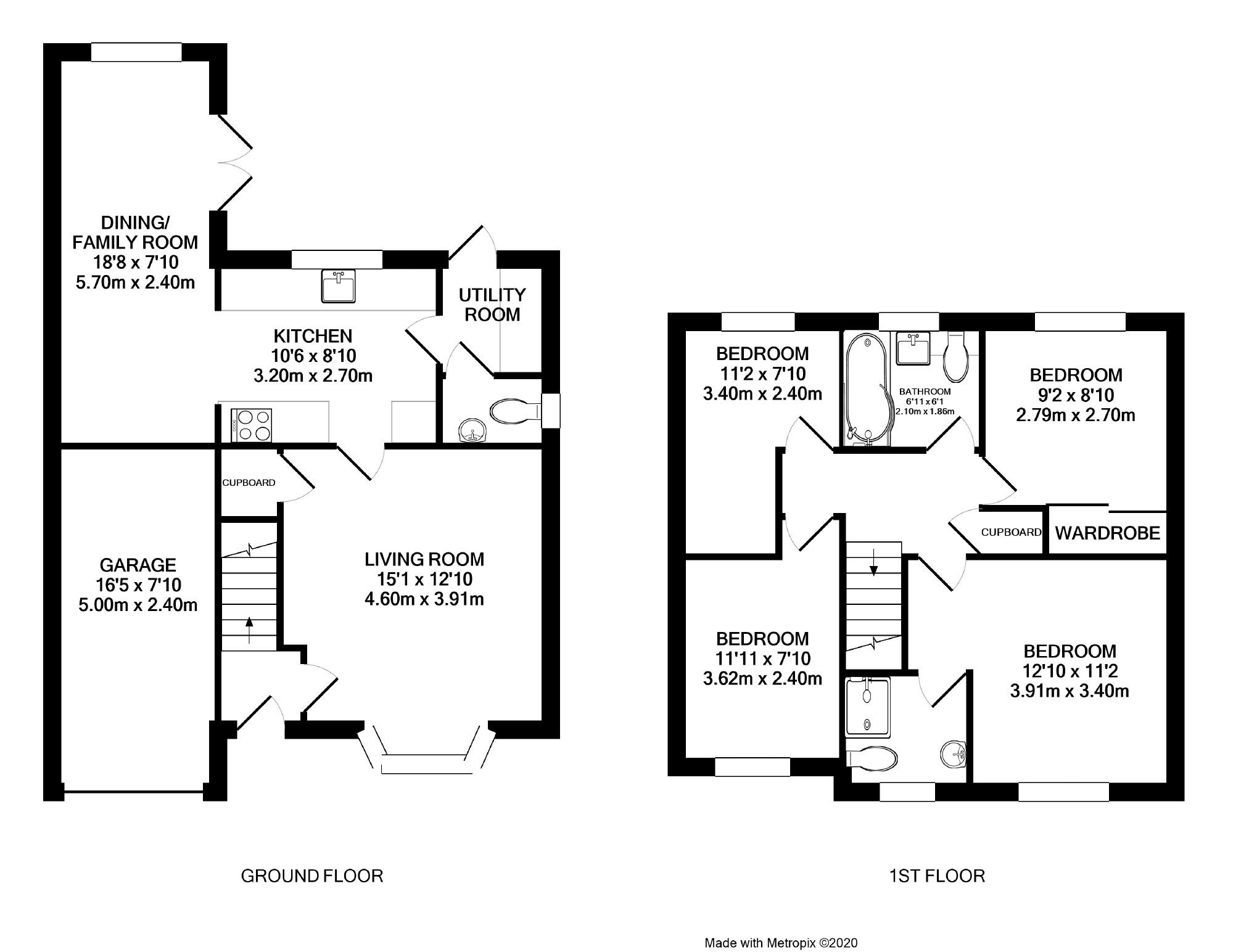 4 bedroom property for sale in Marriott Drive, Kibworth