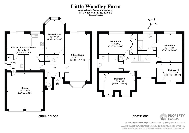 4 bedroom property for sale in Little Woodley Farm