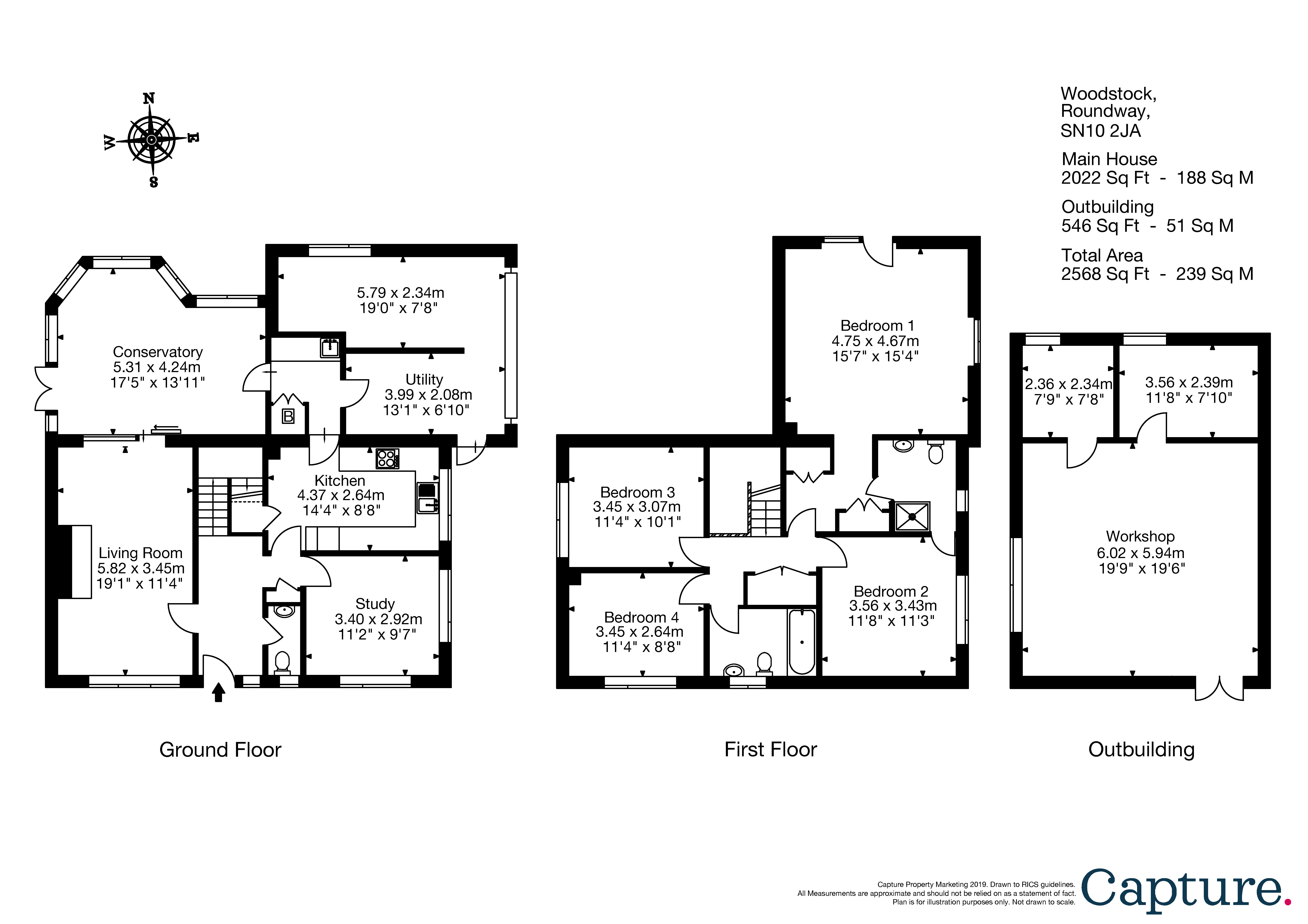 4 bedroom property for sale in Roundway, Devizes