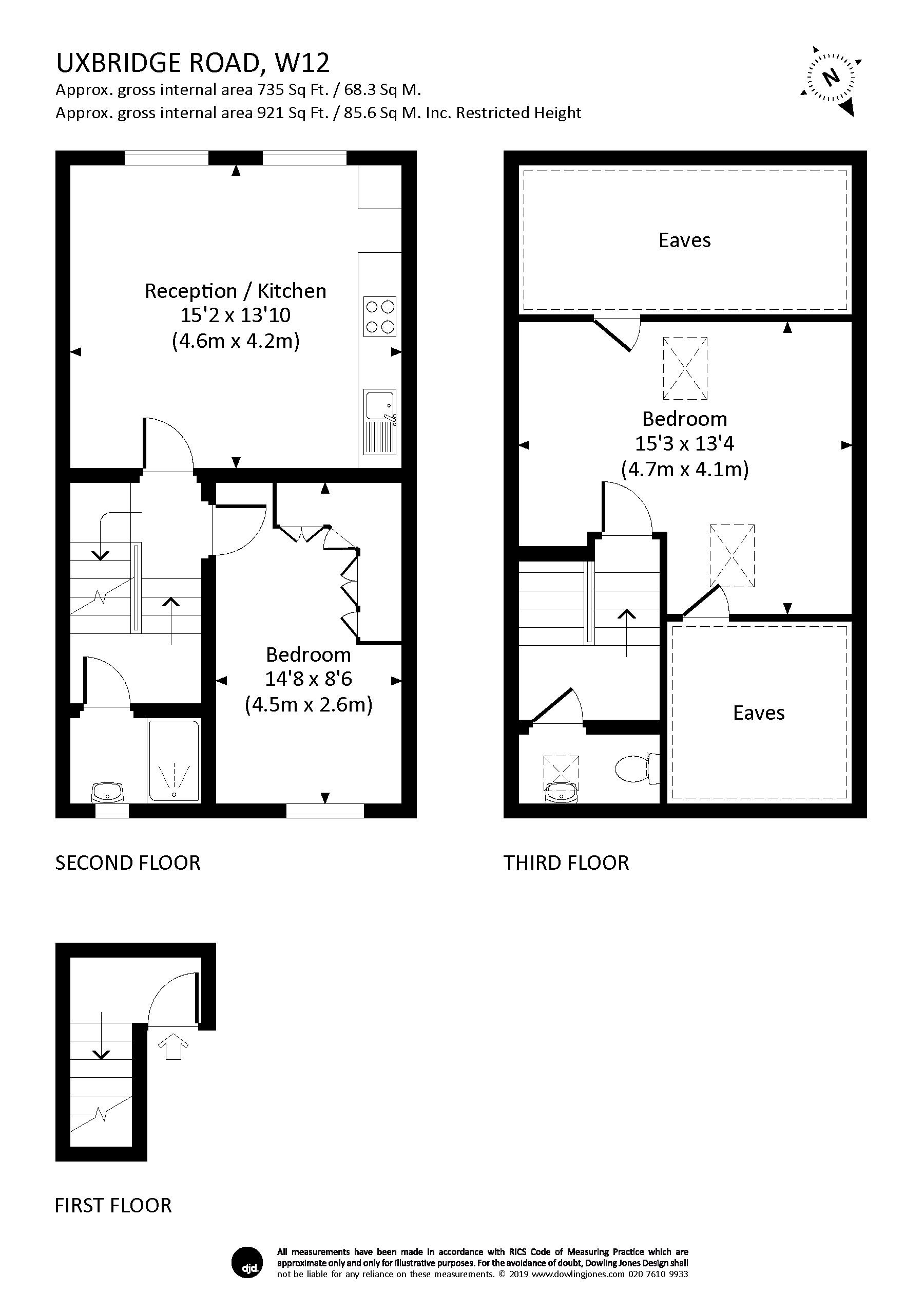 2 Bedroom Property For Sale In Uxbridge Road London W12