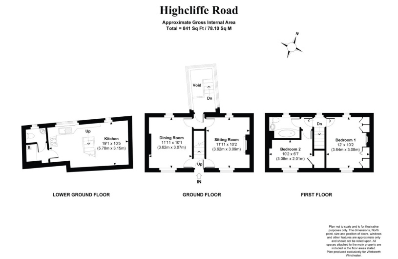 2 bedroom property to rent in Highcliffe Road, Winchester