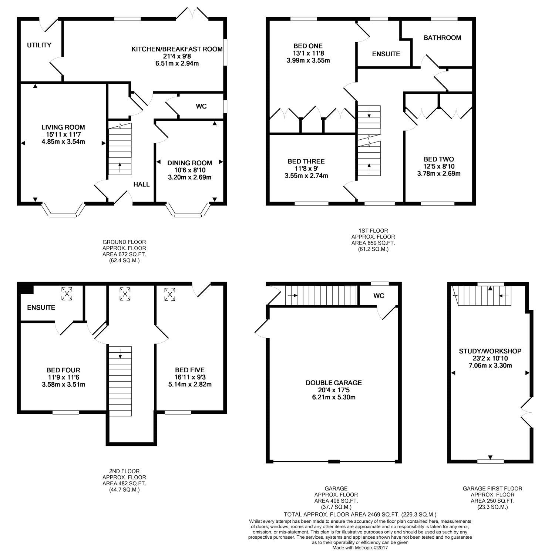 5 bedroom property to rent in Otterbourne Walk, Sherfield