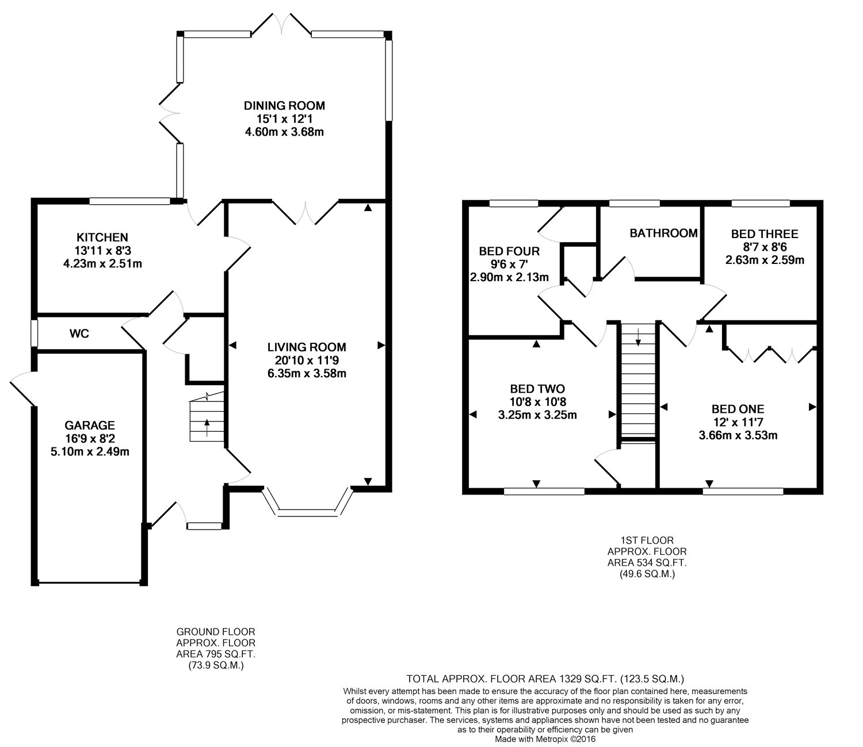4 bedroom property for sale in Brambling Close, Kempshott