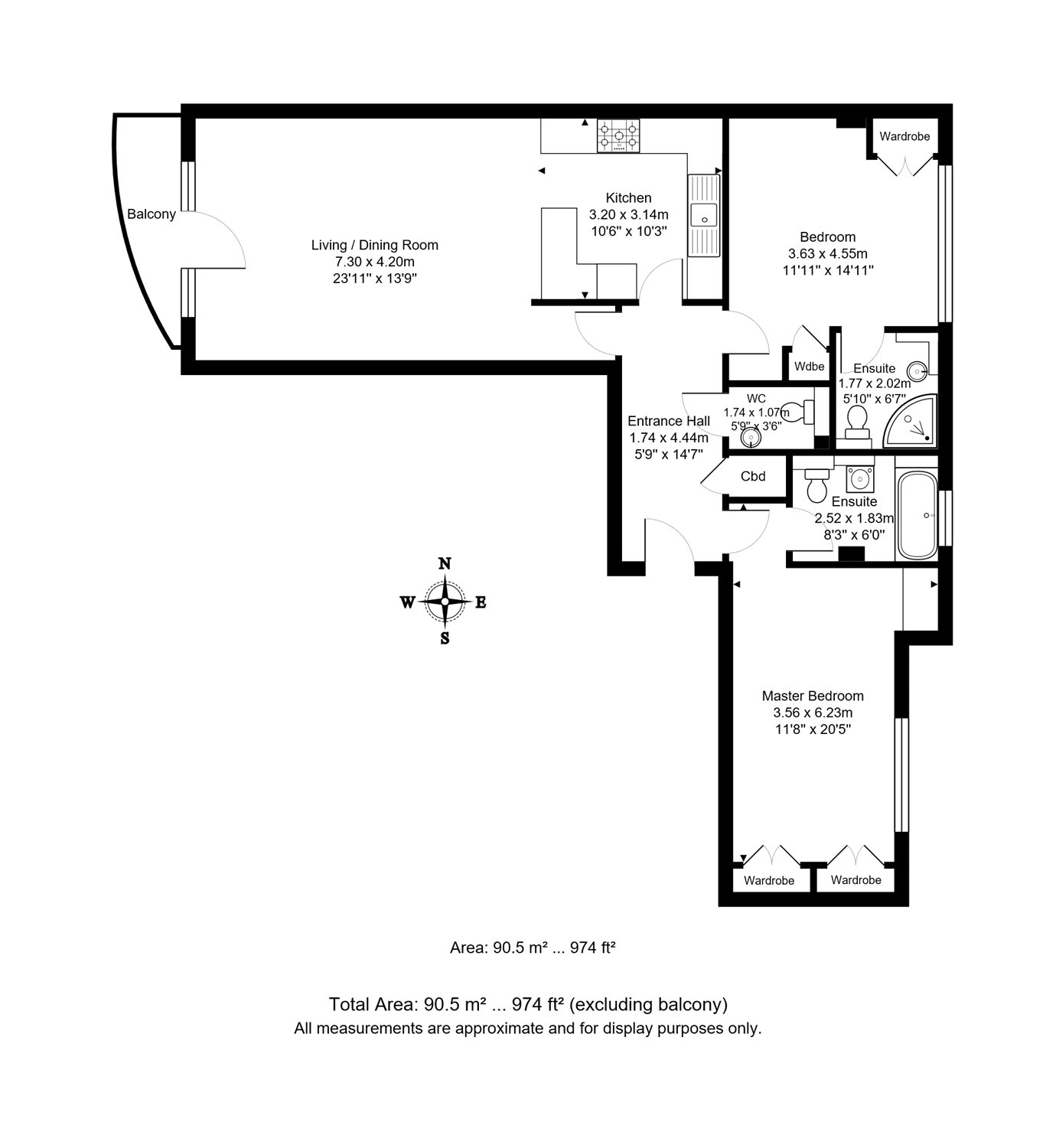 2 bedroom property for sale in Grove Hill House, 21-27