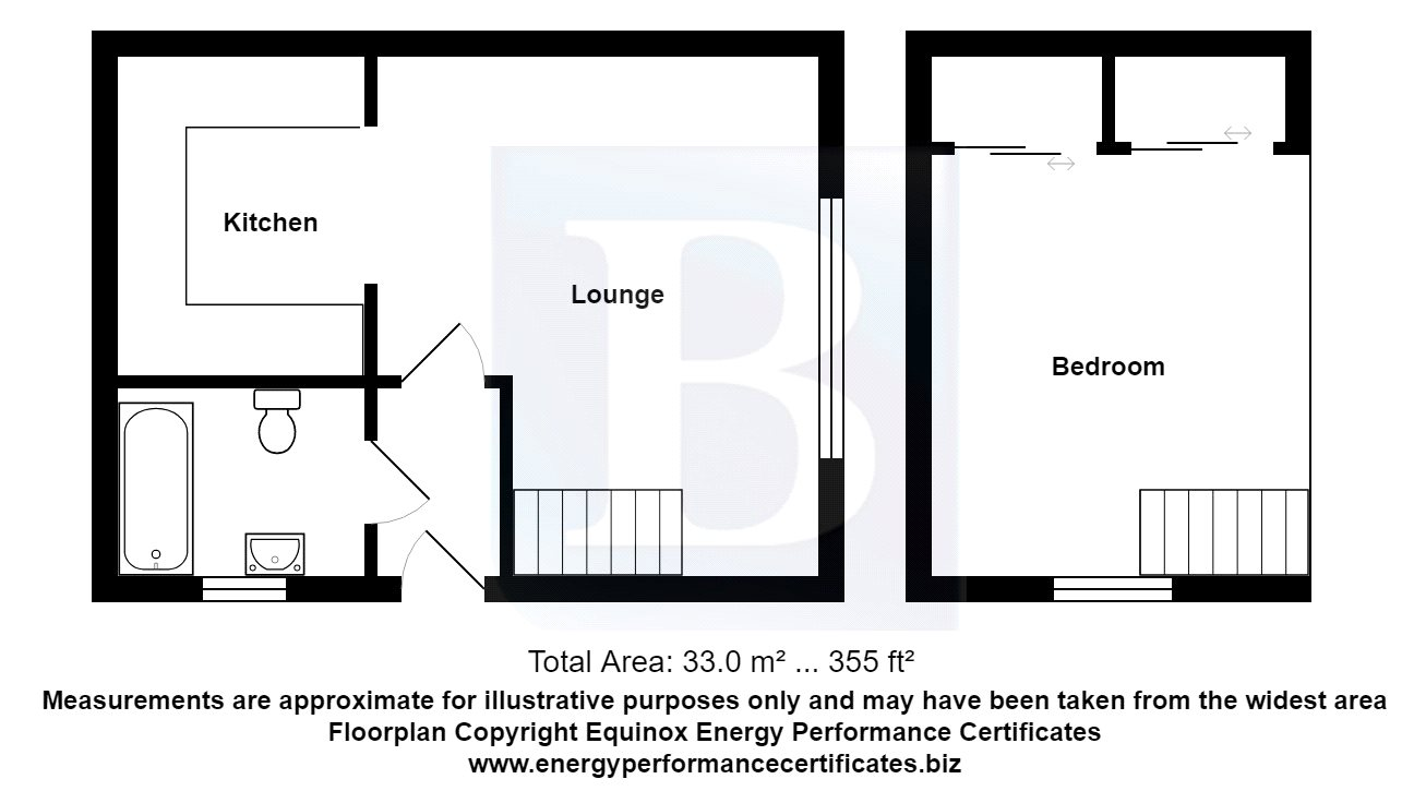 1 bedroom property for sale in Bonington Chase, Chelmsford