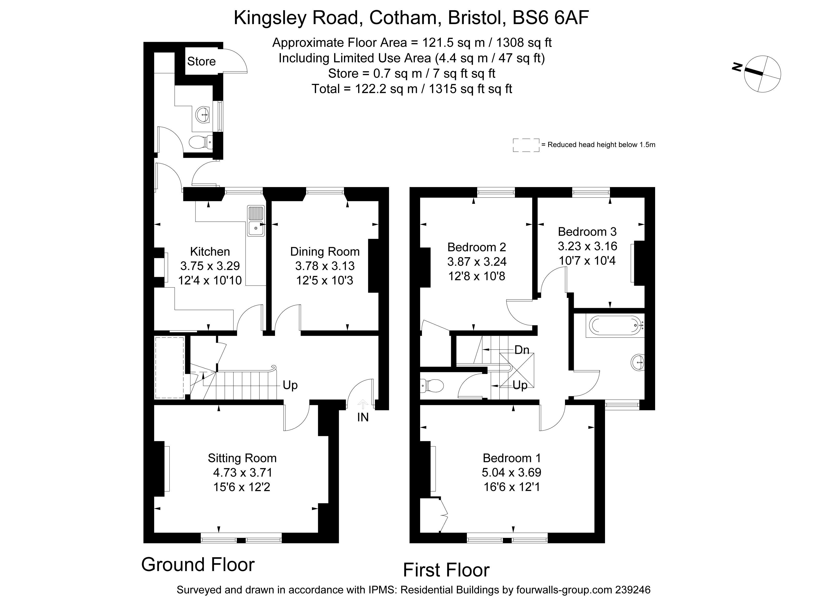 3 Bedroom Property For Sale In Kingsley Road Cotham