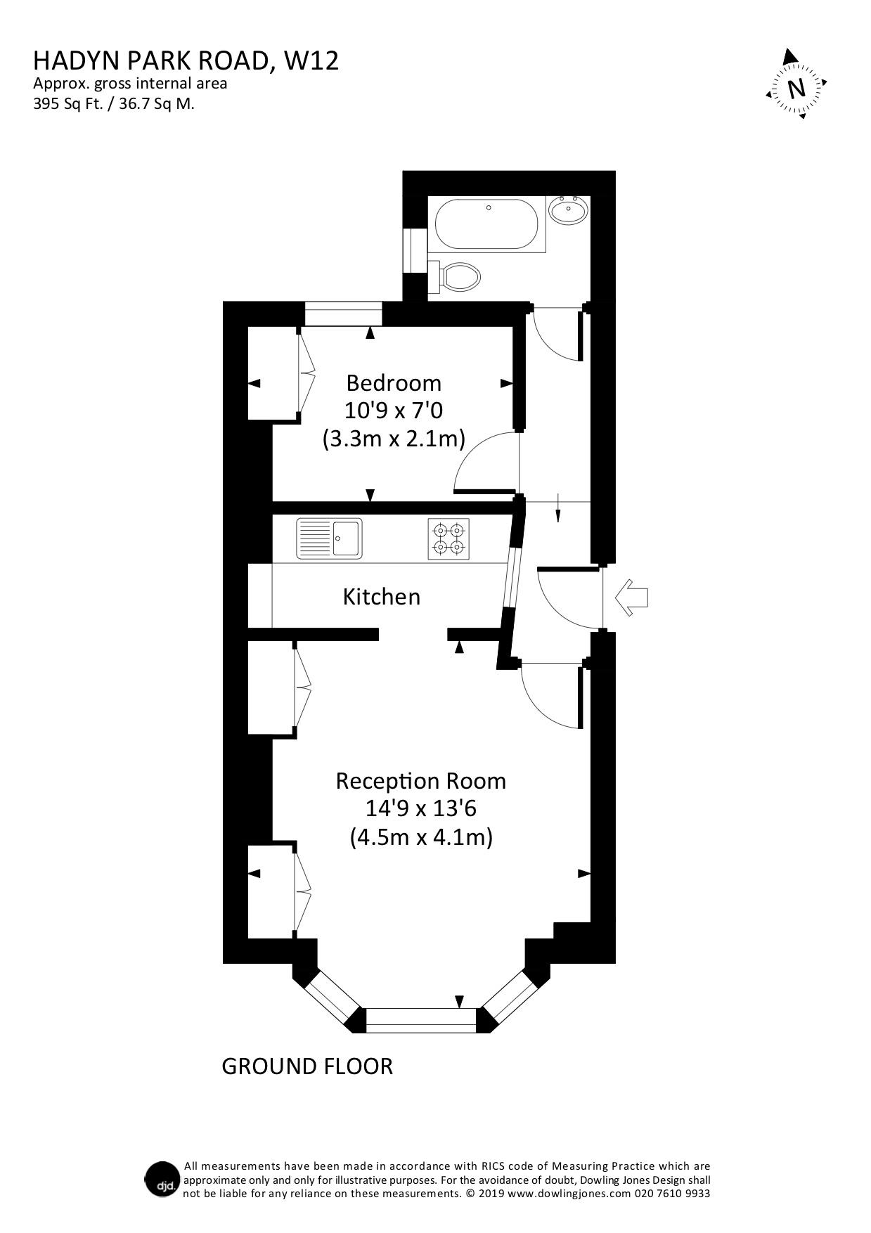 1 Bedroom Property For Sale In Hadyn Park Road Shepherds