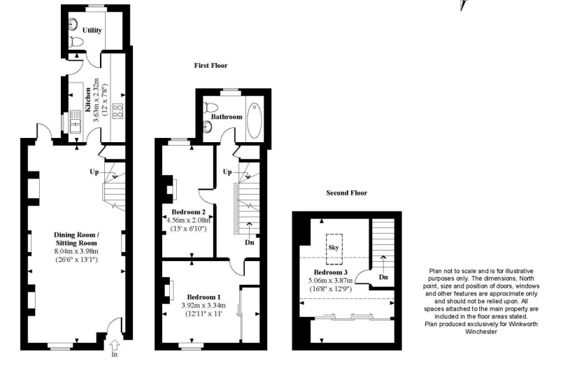 3 bedroom property to rent in Water Lane, Winchester, SO23