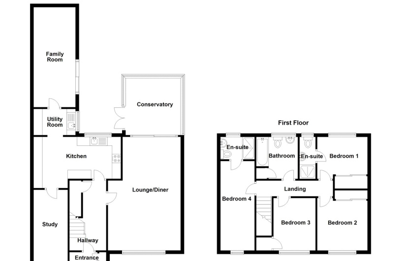 4 bedroom property for sale in Field Road, Billinghay