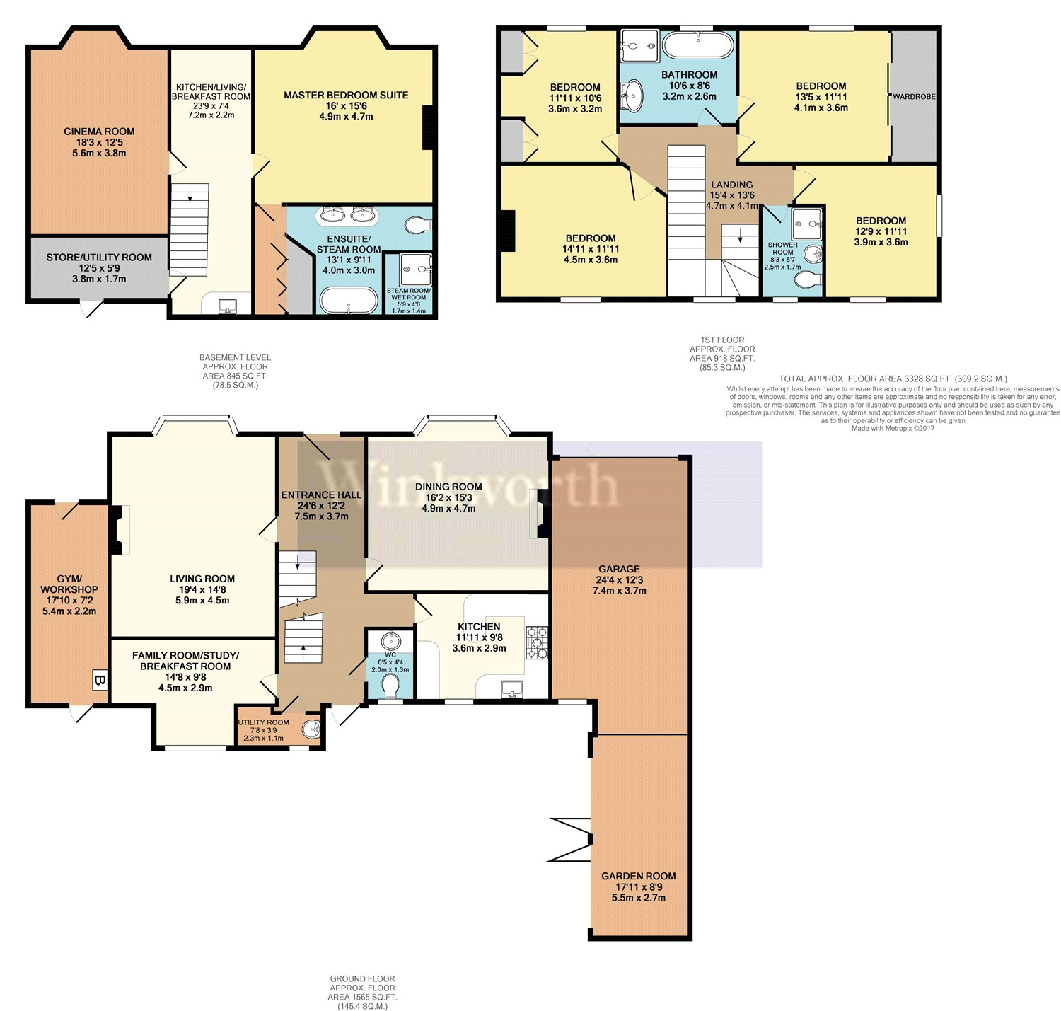 sofa beds reading berkshire wall set 5 bedroom property for sale in castle crescent