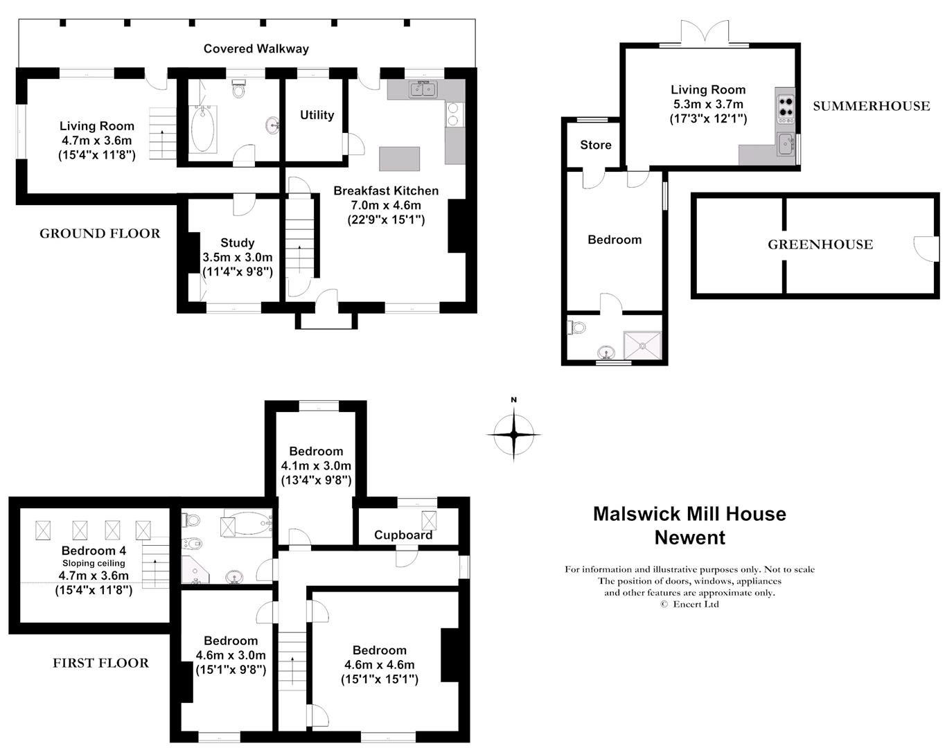 4 Bedroom Property For Sale In Newent Gloucestershire