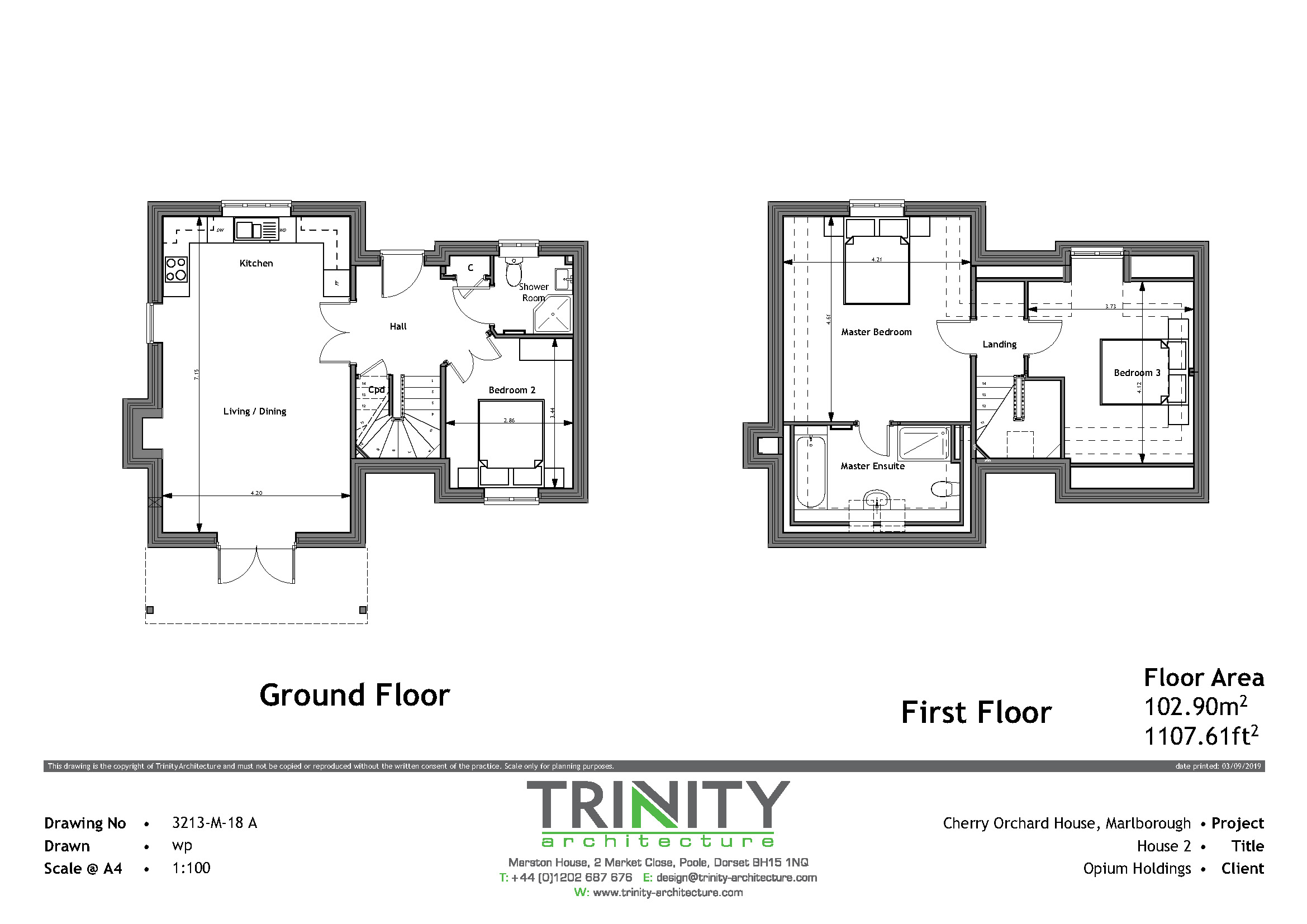 3 bedroom property for sale in Cherry Orchard House