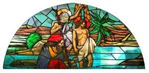 長崎市・カトリック中町教会のステンドグラス