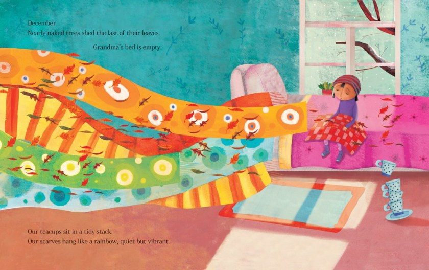 """""""Dance Like a Leaf"""", de AJ Irving, con ilustraciones de Claudia Navarro."""
