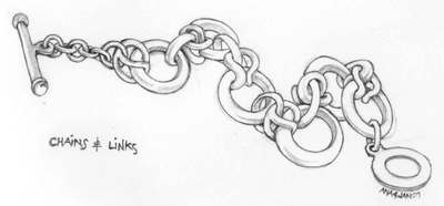 Floating Lemons: Drawing: Chains and Links