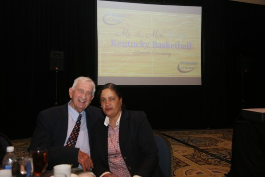 1954 Mr KY Basketball Vernon Hatton & 1976 Miss KY Basketball Donna Murphy