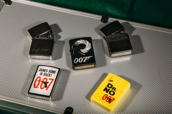 Win 1 Of 3 James Bond Zippo Lighters - And 50