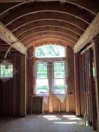 Barrel Ceiling in Master Bath - Mr. and Mrs. Biggs