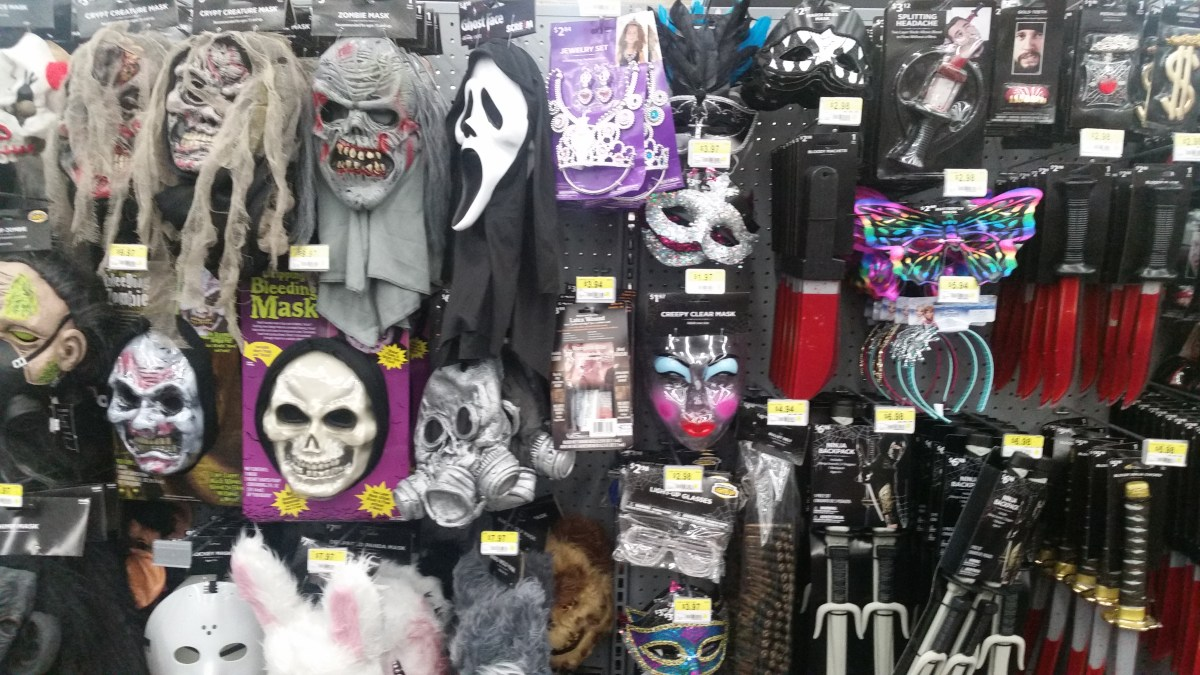 Halloween 2016 Store Sightings: Walmart