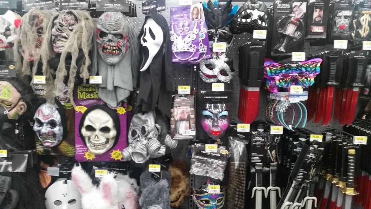 Halloween 2016 Store Sightings: Walmart