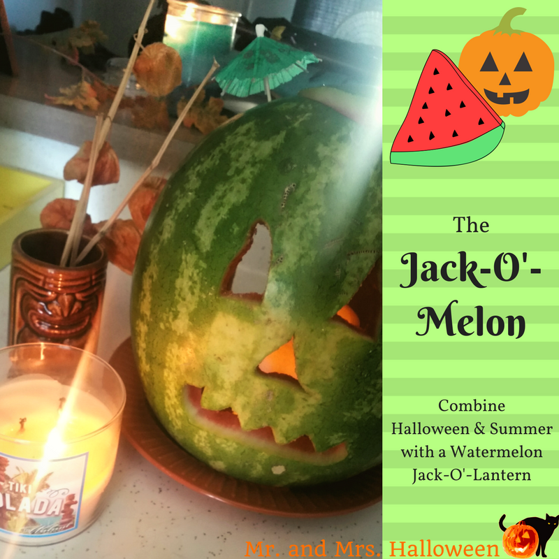 The Jack-O'-Melon: Combine Halloween & Summer with a Watermelon Jack-O'-Lantern