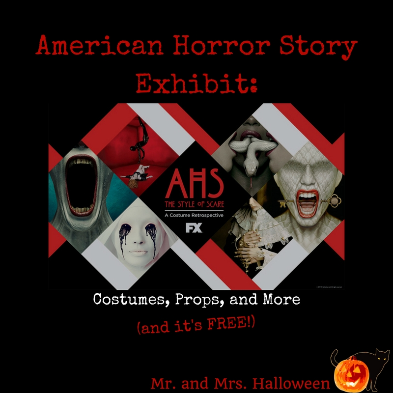 American Horror Story Exhibit: Costumes, Props, and More (and it's FREE!)