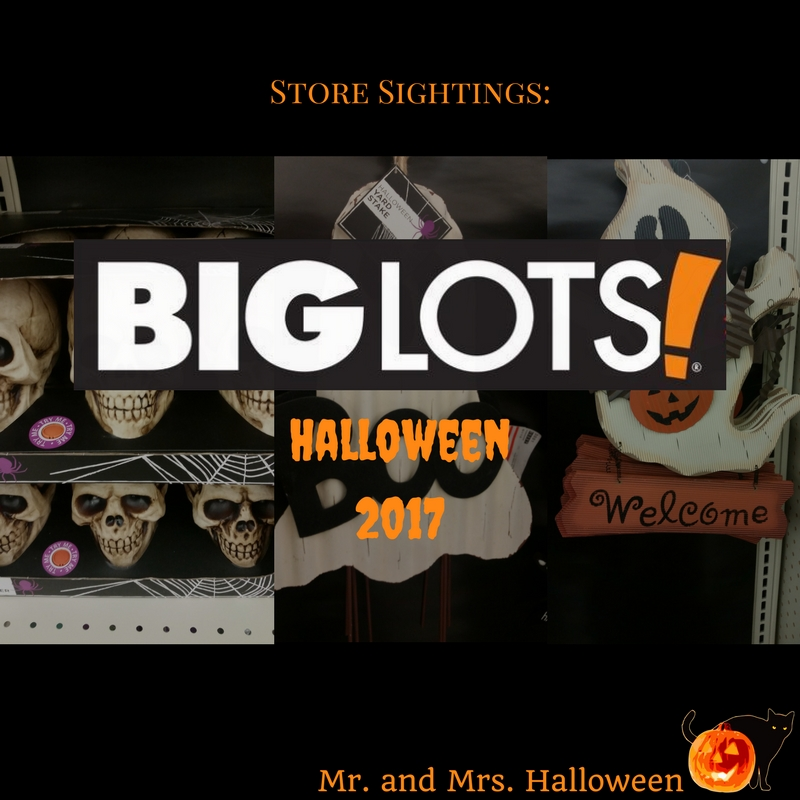 Store Sightings: Big Lots Halloween 2017