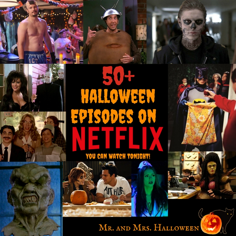 50+ Halloween Episodes on Netflix You Can Watch Tonight!