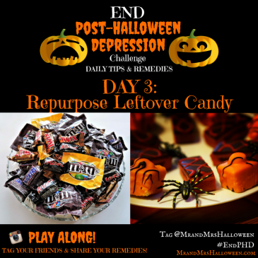 End Post-Halloween Depression Repurpose Leftover Halloween Candy