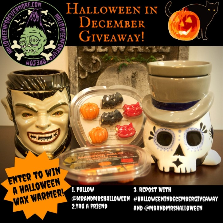 Halloween Forevermore Halloween in December Giveaway