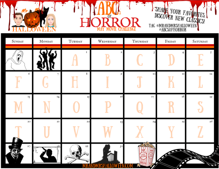 halloween mr and mrs halloween horror movie challenge