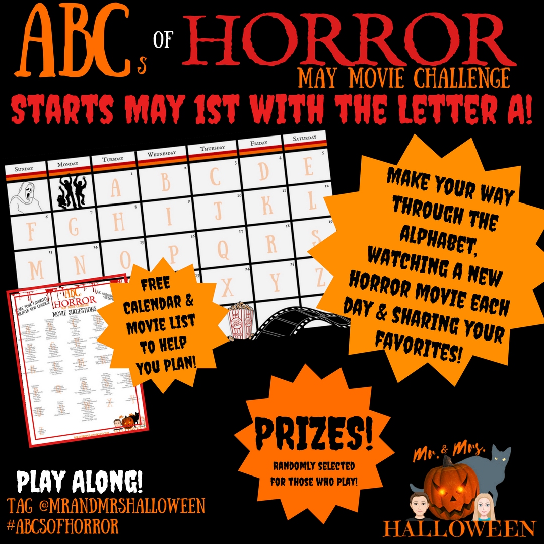 ABCs of Horror Movie Challenge