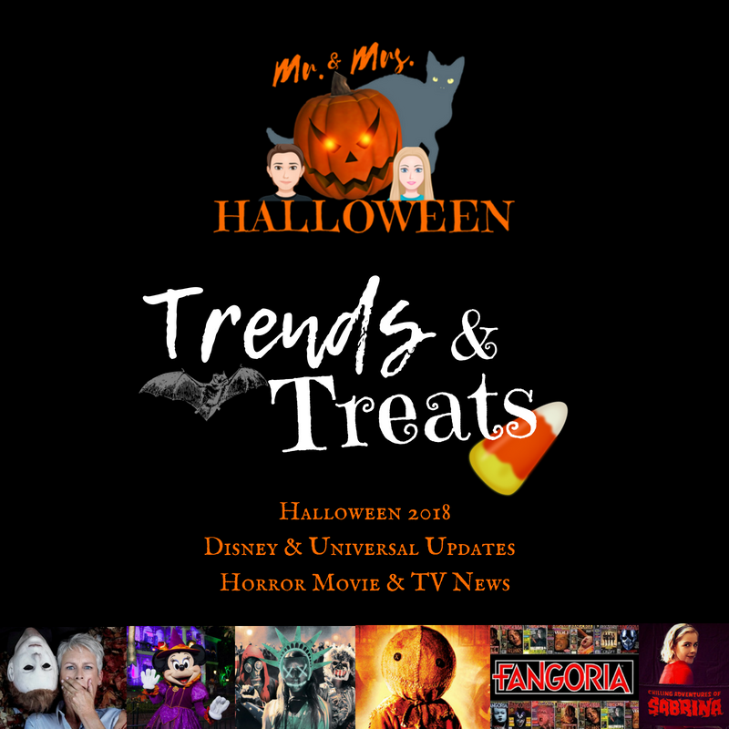 Trends & Treats: Halloween 2018, Horror News & More!