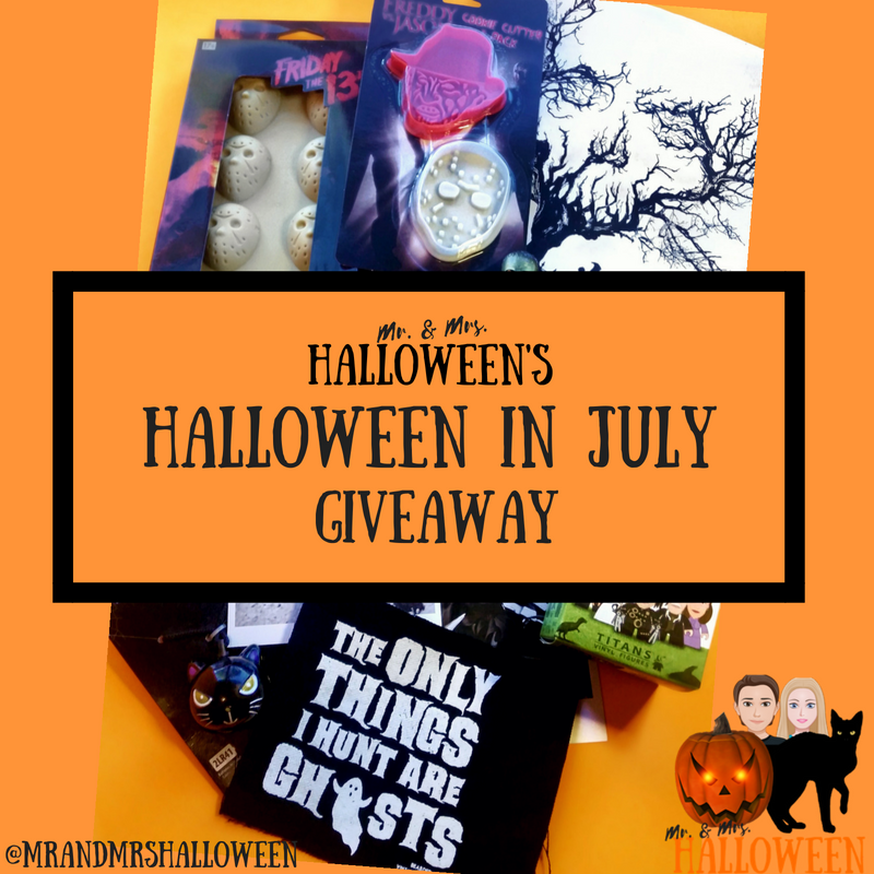 Halloween in July Giveaway!