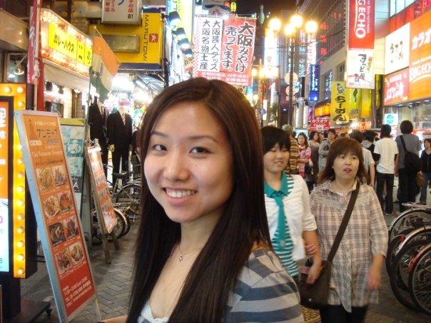 Laurie Wang in Japan