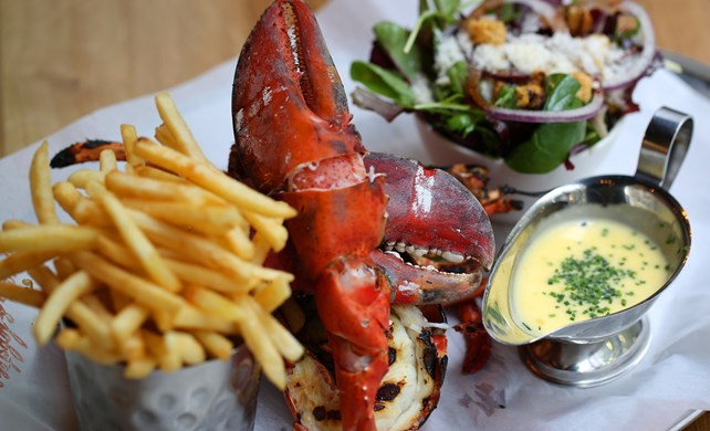 burger and lobster new yorker meets london
