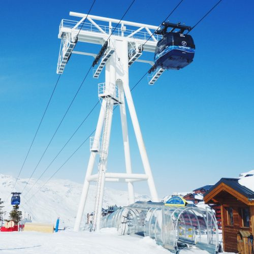 On the slopes of Val Thorens New Yorker Meets London