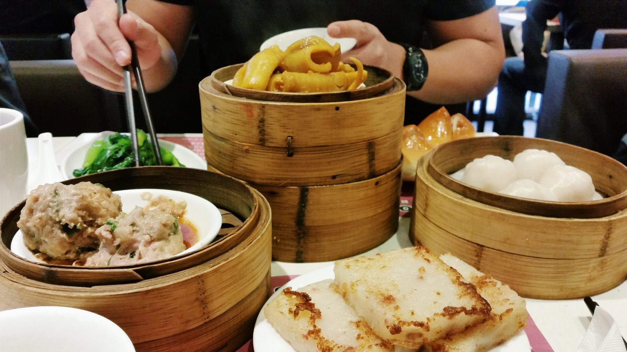Dim sum at One Dim Sum, one of the best places to eat in Hong Kong