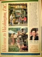 Front Cover of a Washington Flyer Magazine, circa 1992